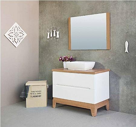 סופר ארון אמבטיה עם כיור מונח או שקוע | א. ארונות אמבטיה מעוצבים | עמוד 3 DT-15