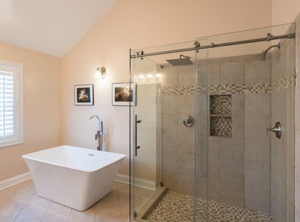 עיצוב חדר אמבטיה בסגנון כפרי א ארונות אמבטיה
